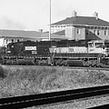 Bnsf Locomotive On Ns 192 Bw by Joseph C Hinson Photography
