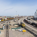 Bnsf Northtown Yard 4 by John Brueske