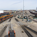 Bnsf Northtown Yard 6 by John Brueske