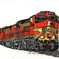 Bnsf by Rodger Ellingson