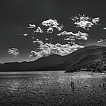 Bnw Lago De Coatepeque - El Salvador V by Totto Ponce