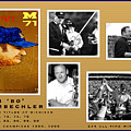 Bo Schembechler Legend Five Panel by John Farr