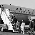 Boarding American Airlines by H. Armstrong Roberts/ClassicStock