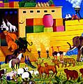 Boarding Noah's Ark At Night by Branko Paradis