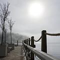 Boardwalk Dawn by Idaho Scenic Images Linda Lantzy