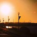 Boardwalk Sunset by Leah Stark