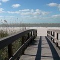 Boardwalk To The Beach by Christiane Schulze Art And Photography
