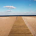 Boardwalk To The Ocean by Kristia Adams
