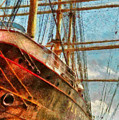 Boat - Ny - South Street Seaport - Peking by Mike Savad
