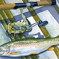 Boat Bottom Trout by Mark Jennings