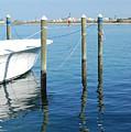 Boat Dock 1 by Patty Vicknair