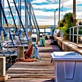 Boat Dock by Deborah
