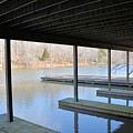 Boat House At Sweet Briar by Katherine W Morse