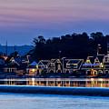Boat House Row by John Greim