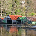 Boat Huts by Sam Smith