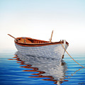 Boat In A Serene Sea by Horacio Cardozo