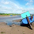 Boat In Alnmouth Harbour by Jean Gill