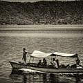 Boat - Lago De Coatepeque, El Salvador by Totto Ponce
