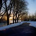 Boat Launch In Winter by Joshua Macneil