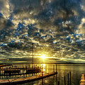 Boat Launch Sunrise by DJA Images
