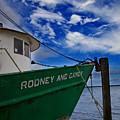 Boat Love In Apalachicola by Toni Hopper