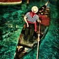 Boat Of Venice by Blake Richards
