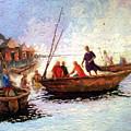 Boat Peaple by Etim Ekpenyong