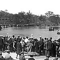Boat Races In Central Park by Underwood Archives