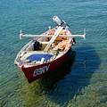 Boat Small Rovinj Croatia by Phil Child