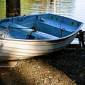 Boat Under The Bridge by Caroline Reyes-Loughrey