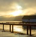 Boathouse Daybreak by Idaho Scenic Images Linda Lantzy