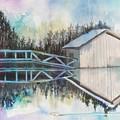 Boathouse by Diane Ziemski