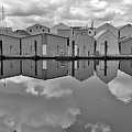 Boathouse Reflections by David Coleman