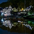 Boathouse Row Eight By Ten by Frozen in Time Fine Art Photography