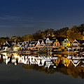 Boathouse Row by John Greim