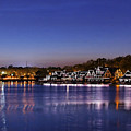 Boathouse Row Philly by John Greim