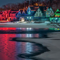 Boathouse Row Philly Pa by Susan Candelario