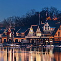 Boathouse Row by Songquan Deng
