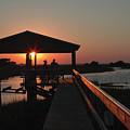 Boathouse Sunset by Stacey Lynn Payne