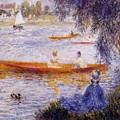 Boating At Argenteuil 1873 by Renoir PierreAuguste