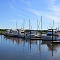 Boating At Southport by Jill Lang
