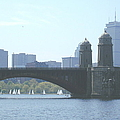 Boating On The Charles by Laura Lee Zanghetti