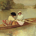 Boating On The Seine by Ferdinand Heilbuth