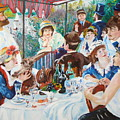 Renoir's Boating Party Luncheon by James Lavott