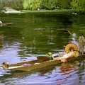 Boating Scene At Maidenhead Sir John Lavery by Eloisa Mannion