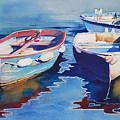 Boats 2 by Anne McCartney