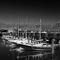 Boats At Fisherman's Wharf - San Francisco by Christiane Schulze Art And Photography