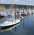 Boats At Friday Harbor by Dan Sproul