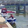 Boats At North Tonawanda Canal by Ylli Haruni
