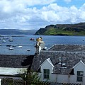 Boats At Portree by Joan-Violet Stretch